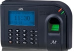 A8 Fingerprint Based Time And Attendance Machines