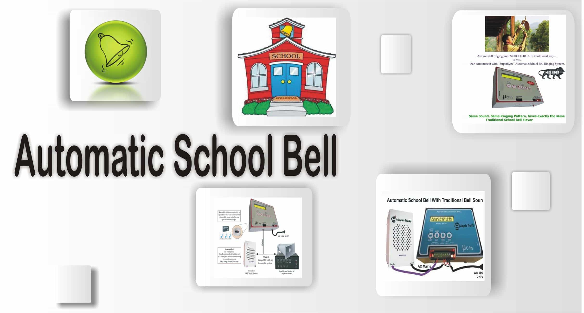 Automatic School Bell