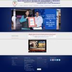 Engineering college website designing