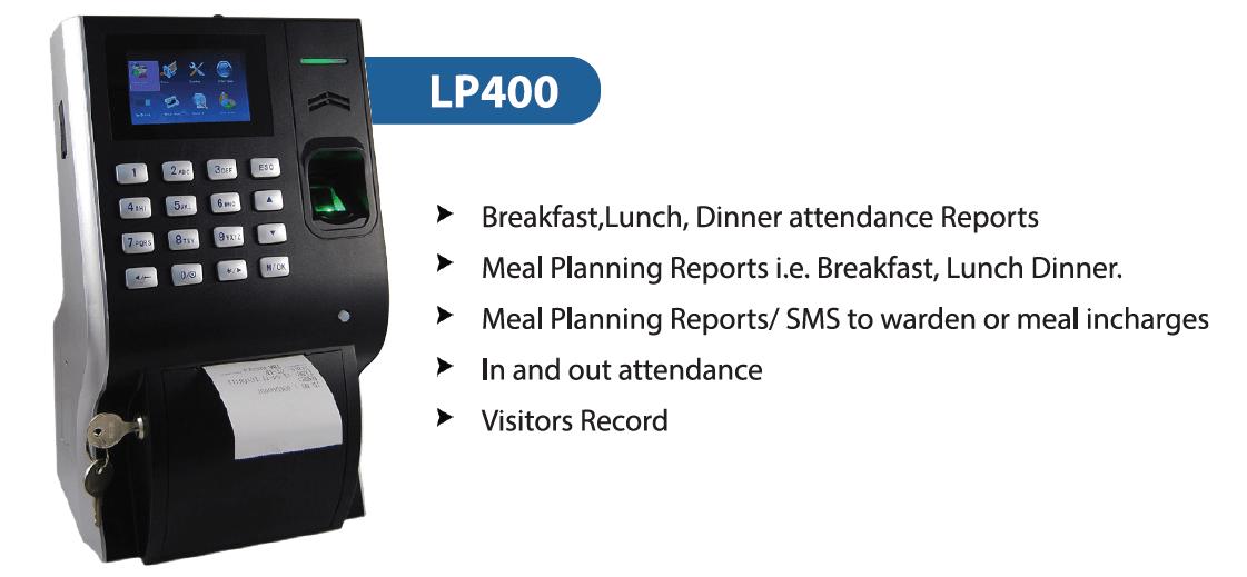 Printer Integrated Biometric Attendance Machine