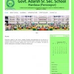 School Website designing Government School