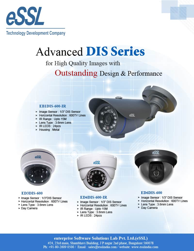 Digital Image System (DIS) Series Camera CCTV