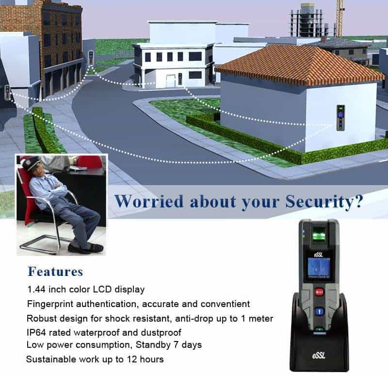 Biometric Guard Patrol System