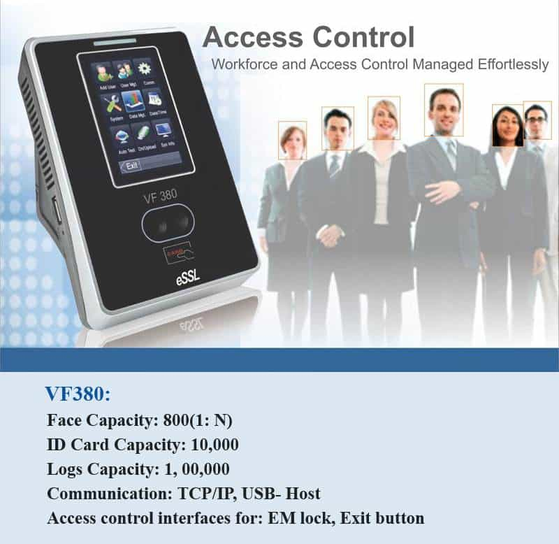 Access Control Facial Sleek