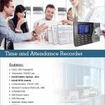 Time attendance Record machine