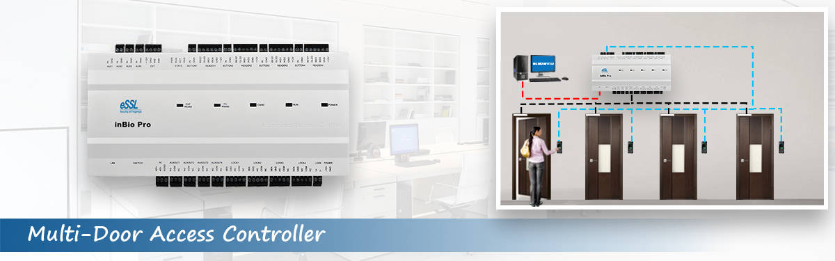 Multi Door Access Controller