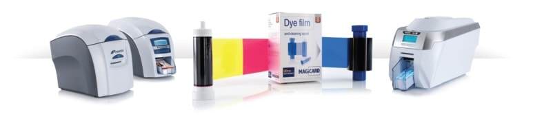 Original Magicard dye film