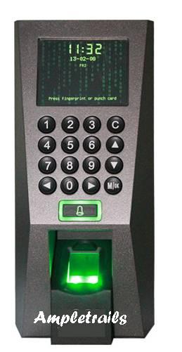 F 18 eSSL ZK Biometric Fingerprint Attendance System