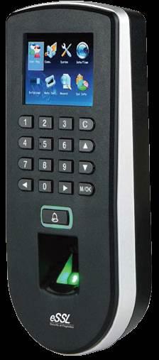 Standalone Fingerprint Time Attendance Access Control System F 19
