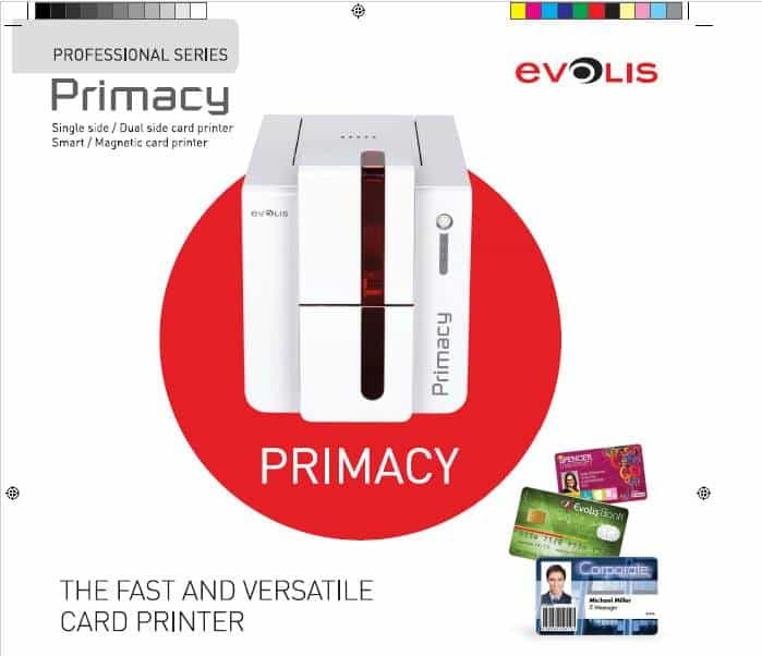 Evolis PVC Card Printer Primacy