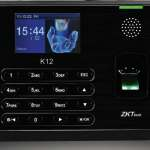 K12 ZKTeco Fingerprint time attendance machine