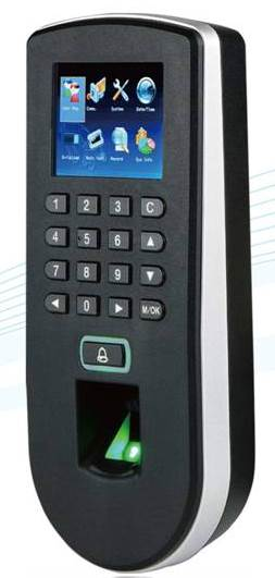 eSSL F19 ZkTeco Attendance Access Control Machine Biometric Fingerprint Time Attendance machine with Access Control