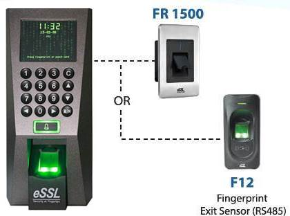 Biometric Fingerprint Attendance Machine F18 With F12