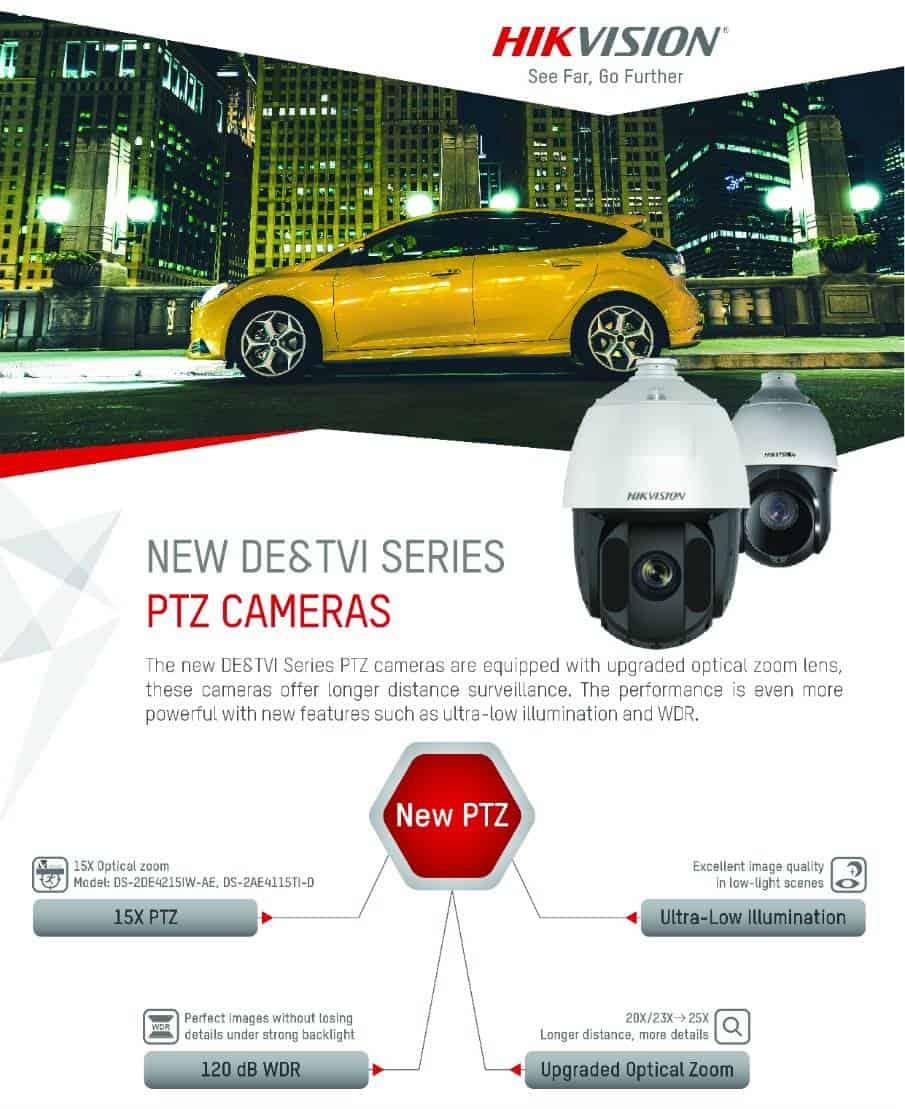 Hikvision PTZ Cameras Latest