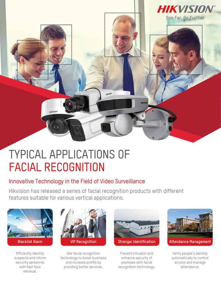 Hikvision's Typical Applications of Facial Recognition
