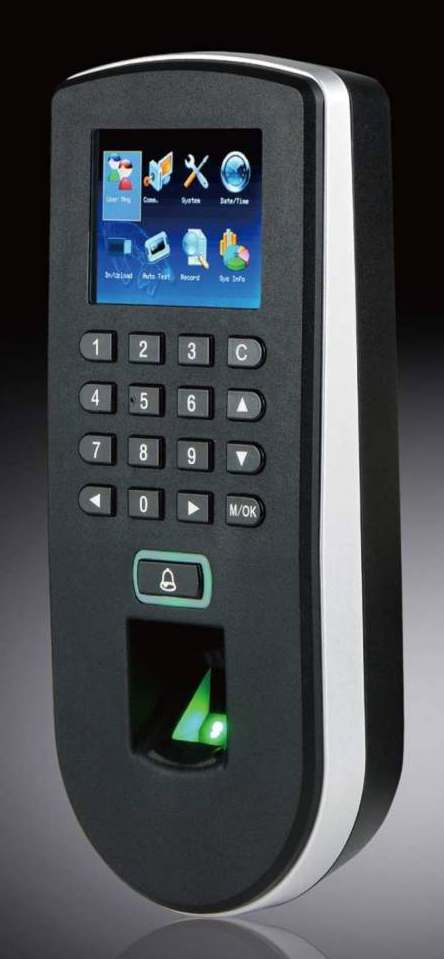 F19 Biometric Time Attendance Machine Access Control