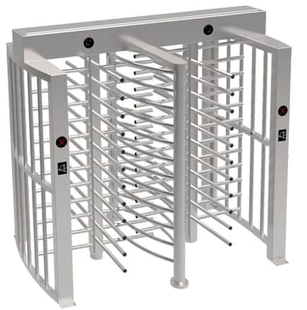 FHT-TL-249-Double Full Height Turnstile