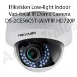 Hikvision Low-light Indoor Vari-focal IR Dome Camera DS-2CE56C5T-(A)VFIR HD720P