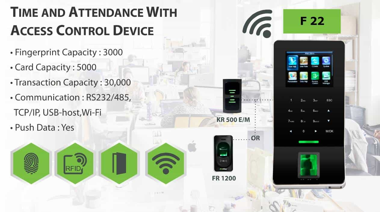 Time Attendance Access Control Device