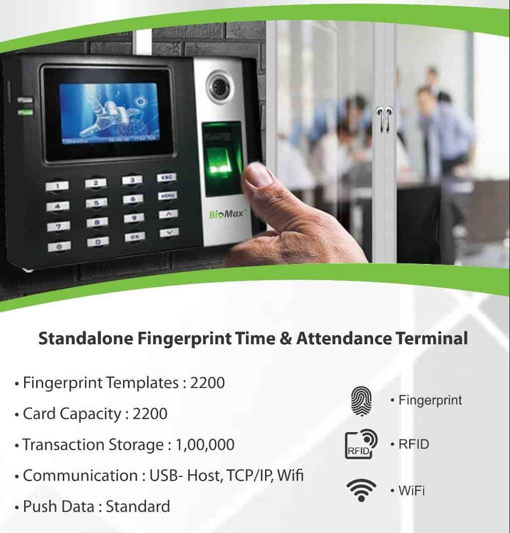 Wifi Attendance Machine RFID Card Fingerprint