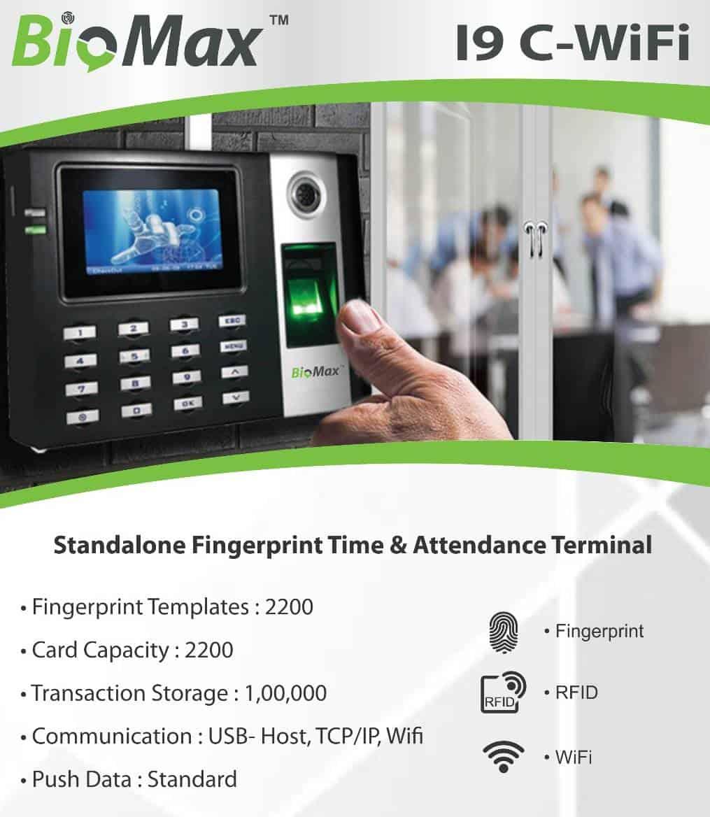 Wifi Attendance Machine RFID Card Fingerprint