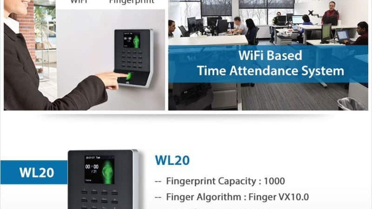 WIFI Biometric Attendance System WL20 WL30 F22 E9c Cloud