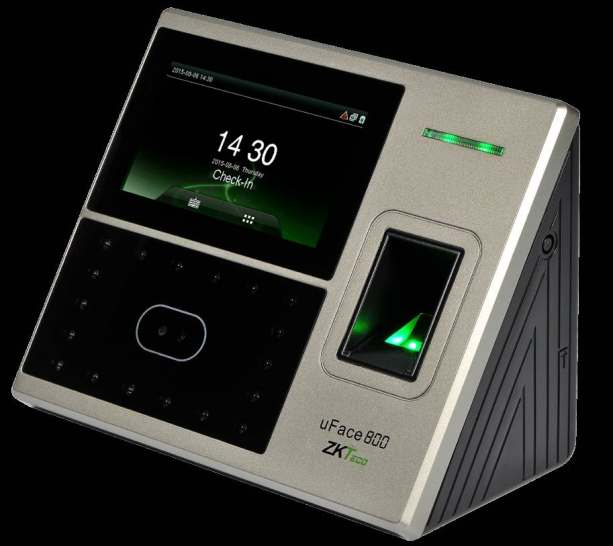 uFace 800 Multi-Biometric Time Attendance and Access Control Terminal ZKTeco