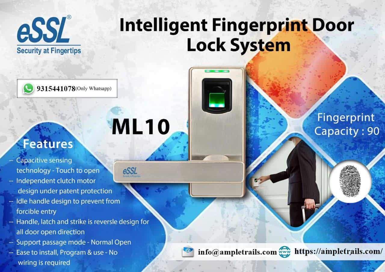 Fingerprint Door Lock System for Villas Apartment