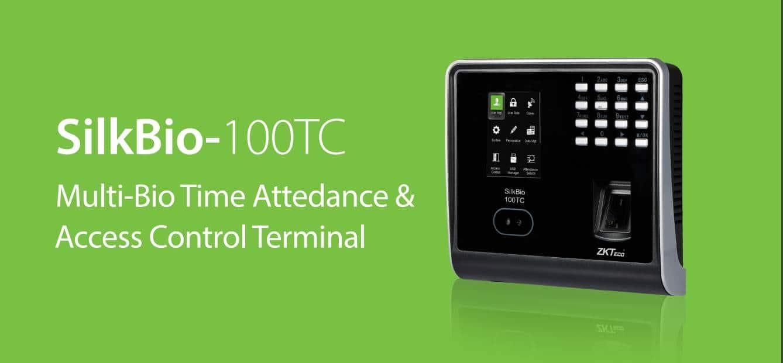 Silkbio 101TC Multi-Bio Time Attendance Access Contol Terminal