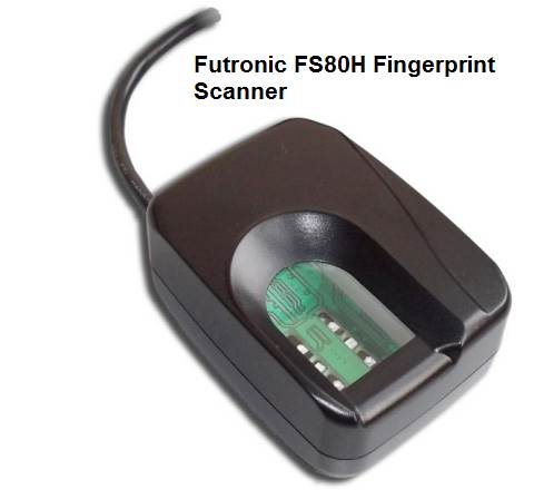 Futronic FS80H Fingerprint Scanner