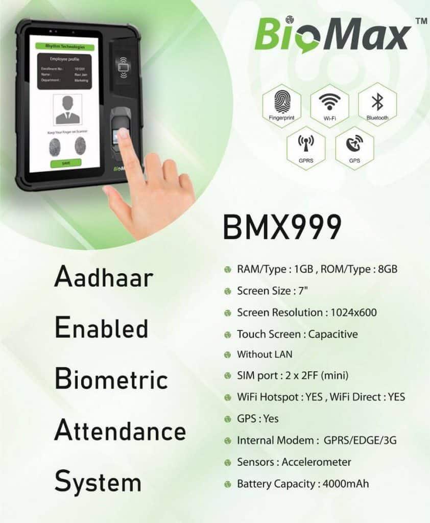 Aadhaar Enabled Biometric Attendance System