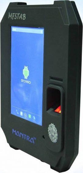 Mantra MFSTAB Biometric Machine