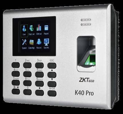 Zkteco biometrics Attendance Machine K 40