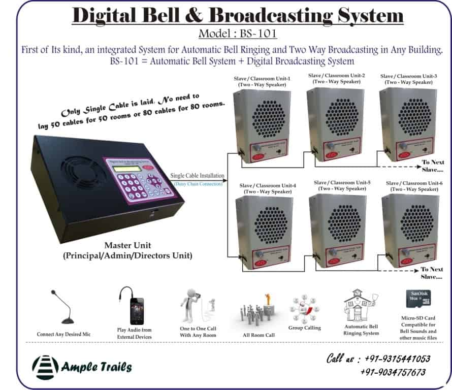 Broadcasting System For Schools