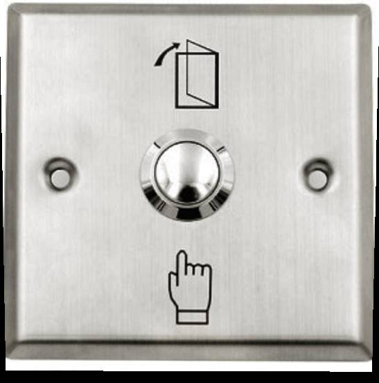Push Button Exit Switch Access Control System