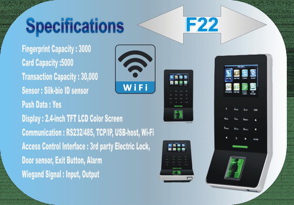 Wifi Access Control System eSSL F22