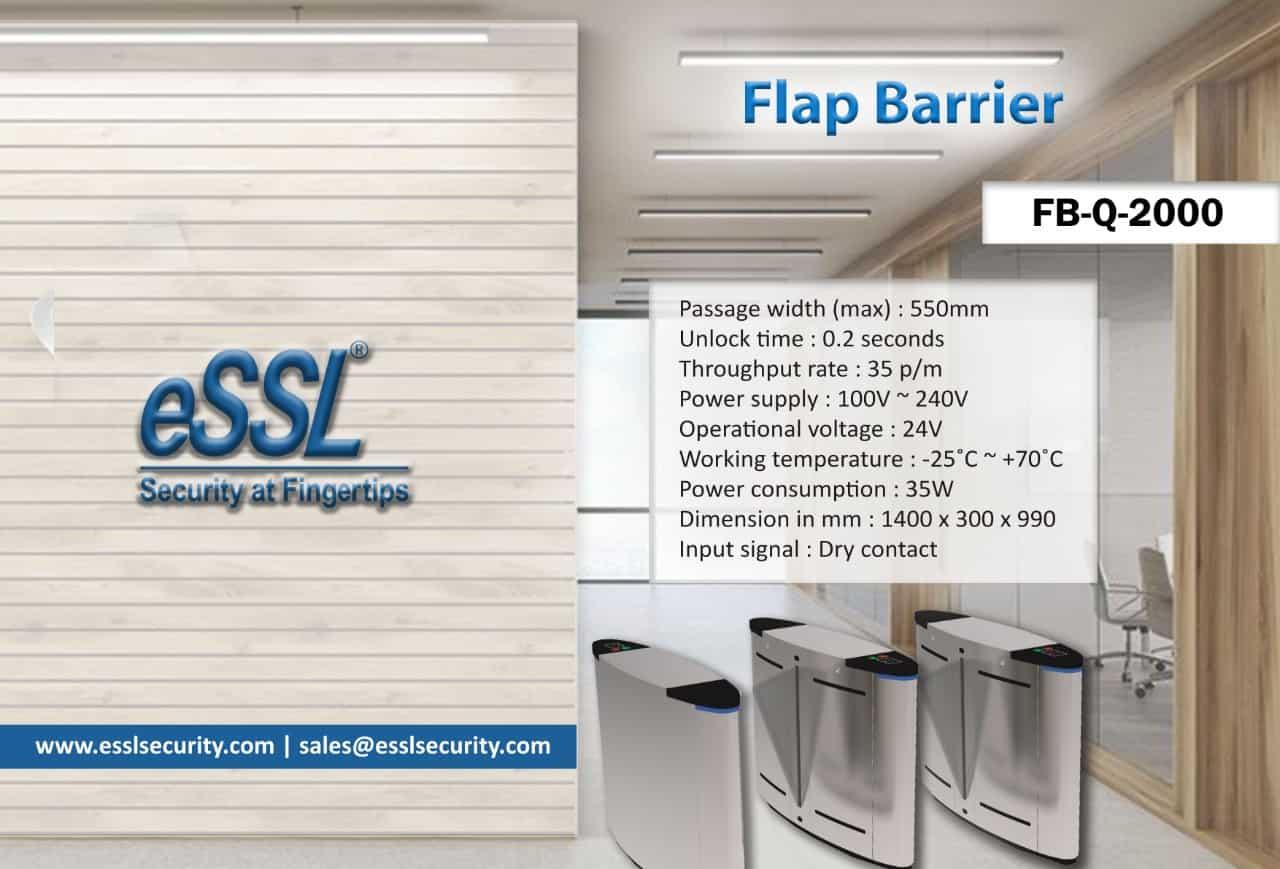 Flap Barrier eSSL