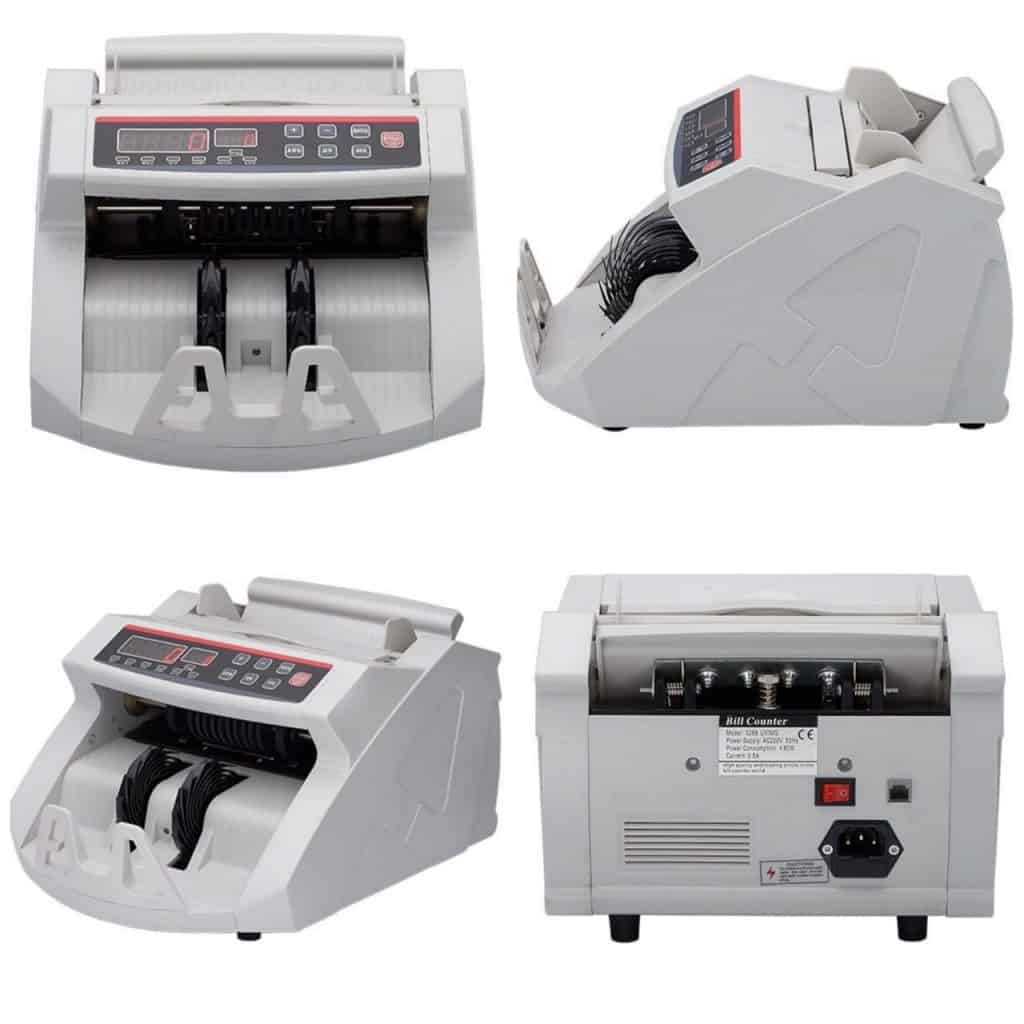 New Currency Counter & Fake Note Detector Note Counting Machine (Compatible with New Currency - 500 & 2000 denomination)