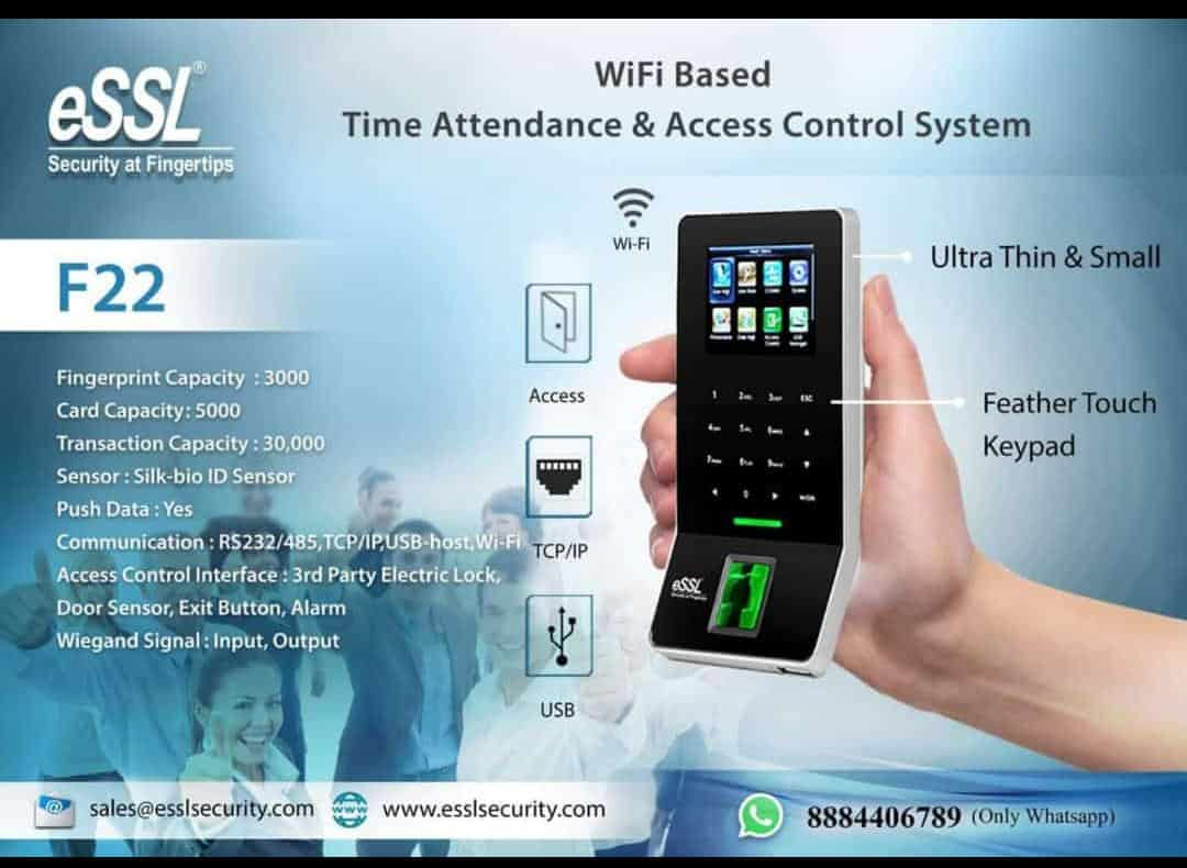 Wifi Attendance Machine eSSL F22