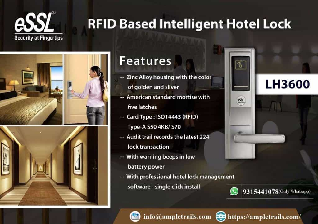 RFID Hotel Lock eSSL LH3600