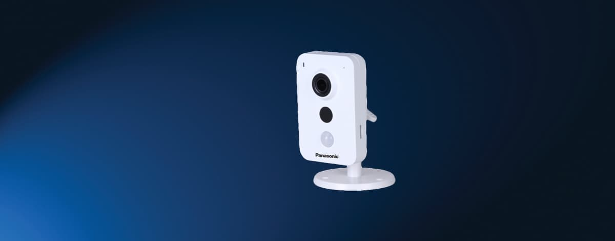 Wi-Fi Cube Camera Panasonic 1.3MP HD Network PI-SKN102L