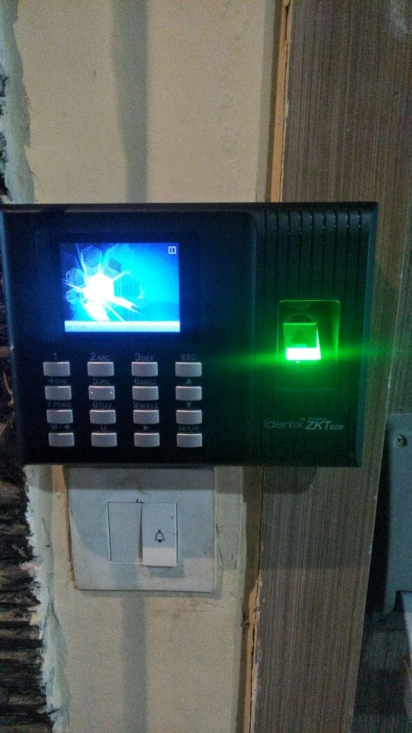 Biometric Machine with Access Control System