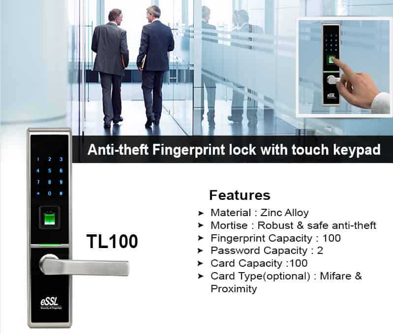 Fingerprint Door Lock eSSL TL100