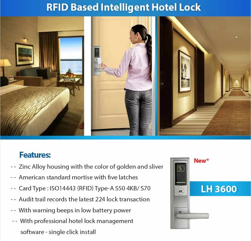 LH 3600 Hotel Locks supplier in Gurgaon
