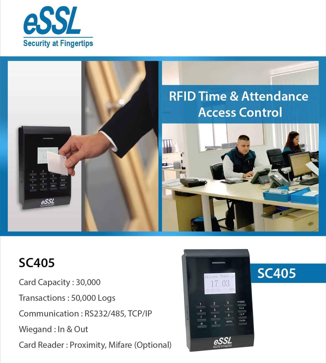 RFID Access Control System eSSL SC405
