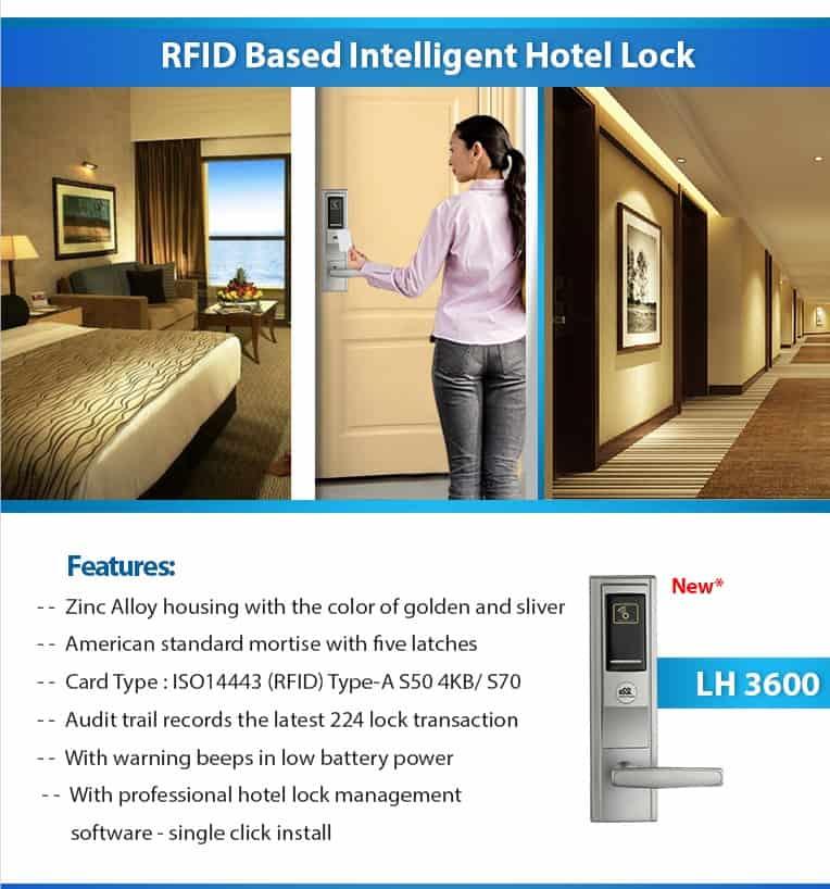 RFID Hotel Lock LH 3600