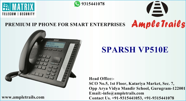 Sparsh VP510E Matrix DKP