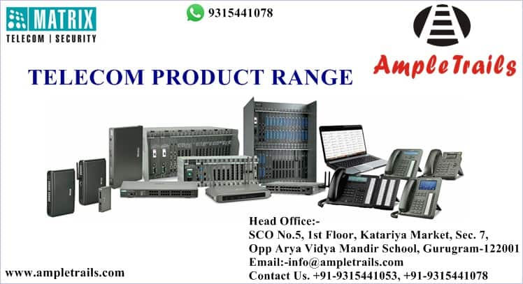 Matrix Telecom Product Range