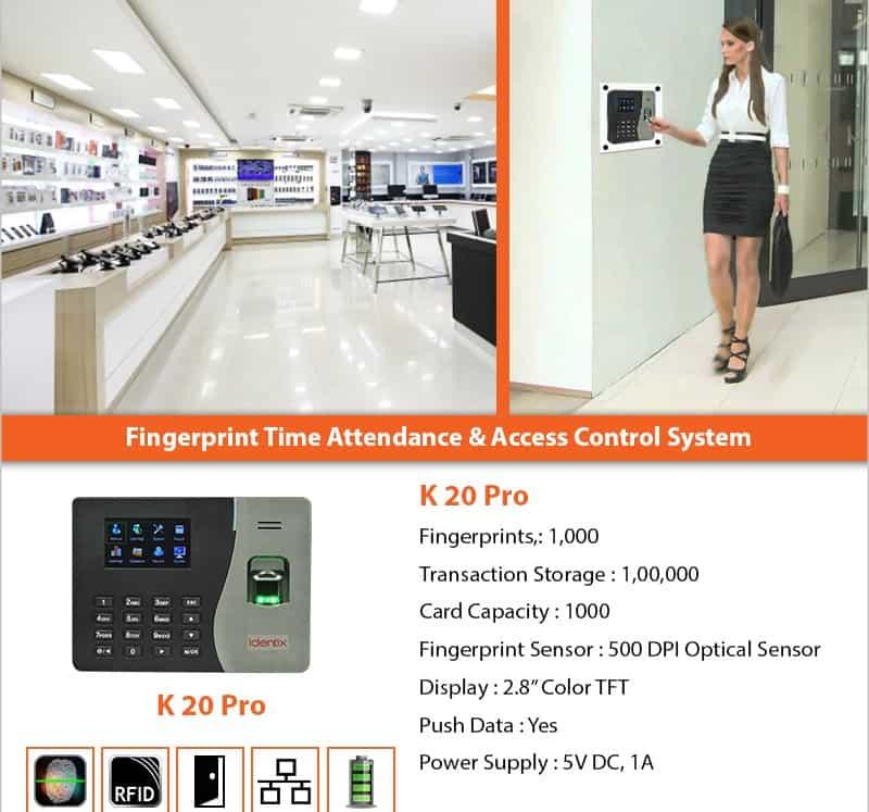 essl Biometric k20 Pro price