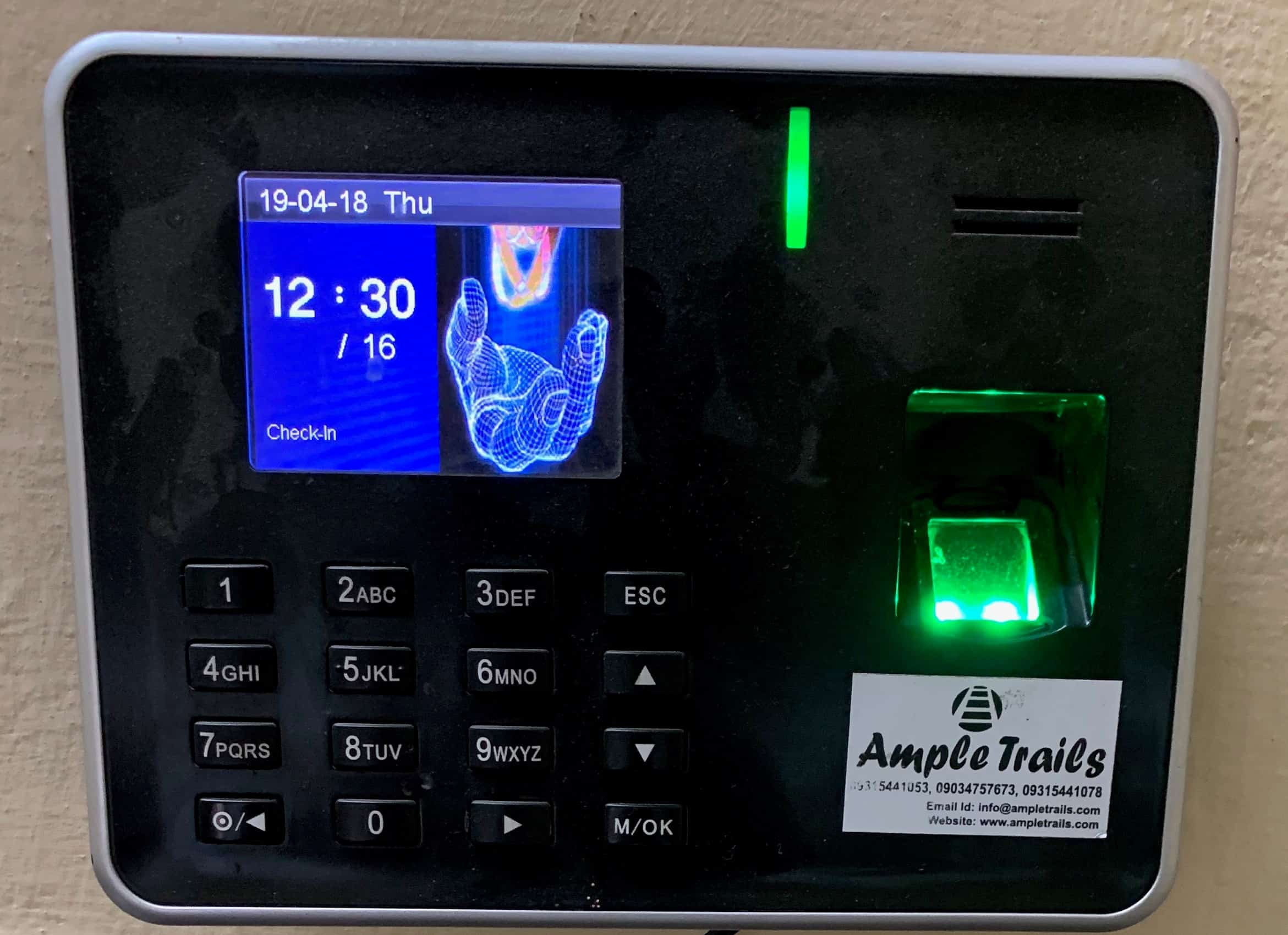 Economical Fingerprint Attendance Machine